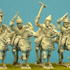 Light cavalry, spears