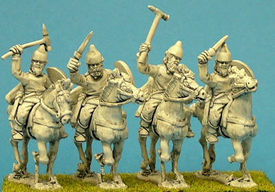 Light cavalry, sword & sagris