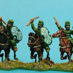 Median cavalry, spears