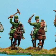 Median cavalry, sword & sagris