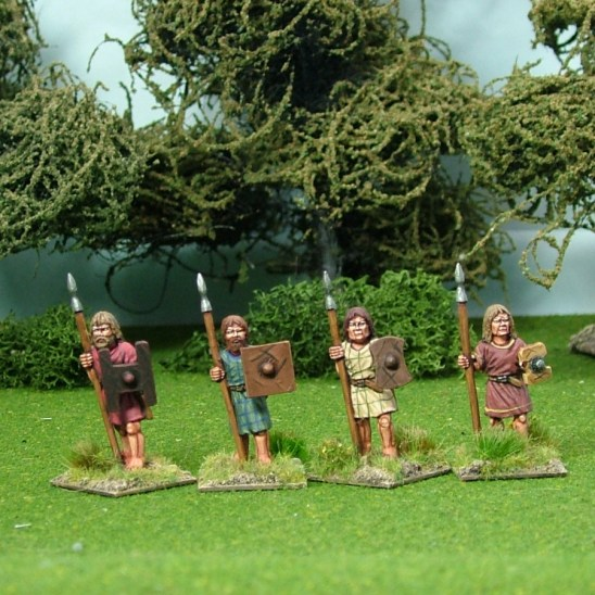Pict05 Warriors Standing with Spears 1
