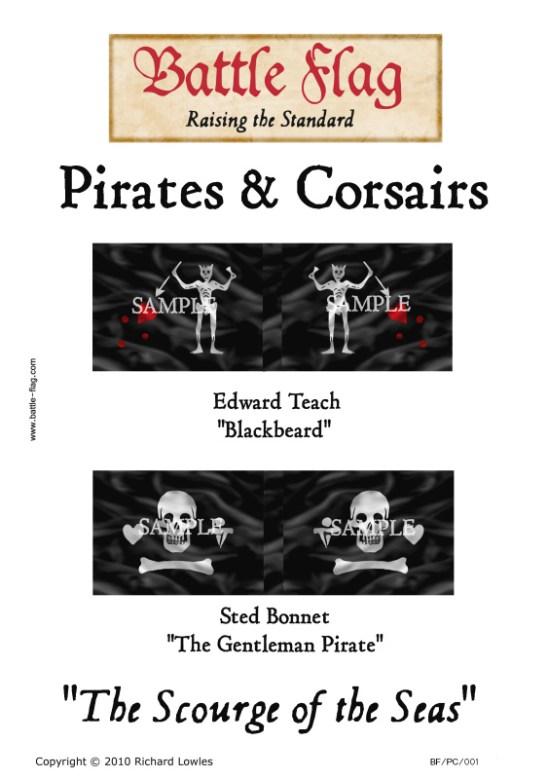 "PC/001 Edward Teach ""Blackbeard"", Sted Bonnet ""The Gent"