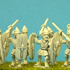Numidian Infantry spear men miniatures