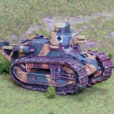 1/48 28mm ww1 french renault FT17 light tank