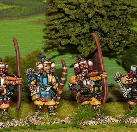 SAM01 Samurai archers.