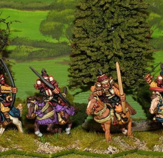 SAM07 Mounted Samurai archers.