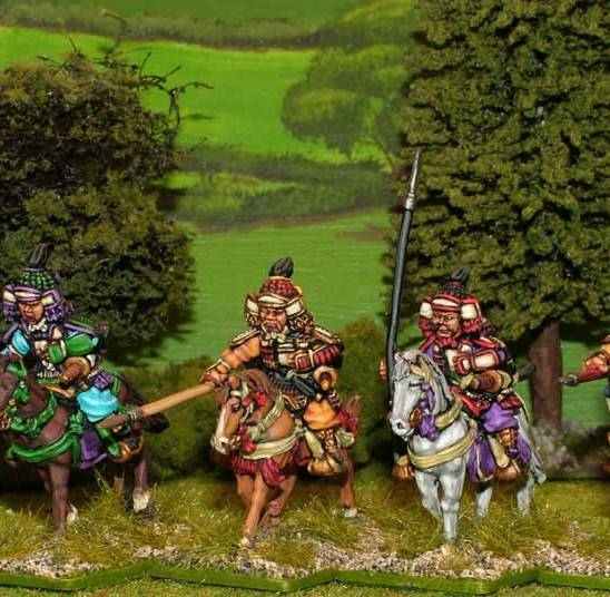 SAM08 Mounted Samurai with yari.