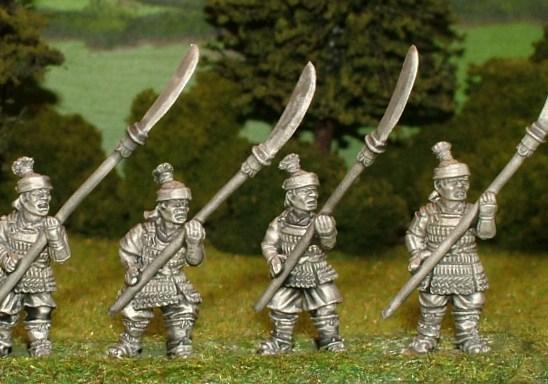 SAM10 retainers with naginata.