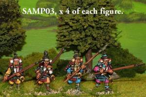 SAMP03 Samurai with yari.