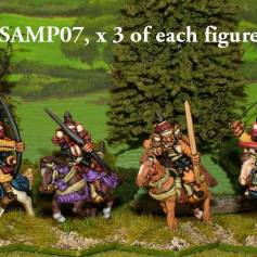 SAMP07 Mounted Samurai archers.