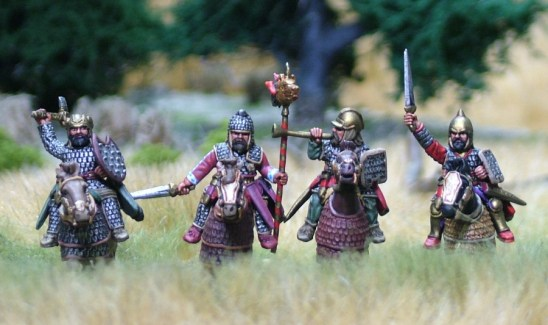 Noble Cavalry Command I, Half Barded Horse