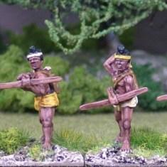 Burmese Levy crossbowmen