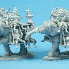Elephants with side platforms(2 pack)