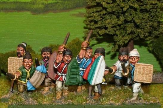 SU06 Unarmoured swordsmen.