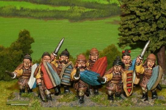 SU07 Armoured swordsmen.