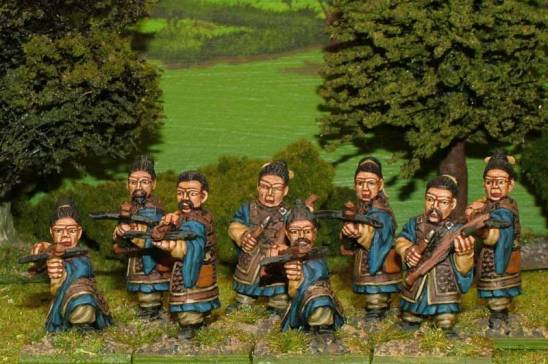 sung chinese Armoured crossbowmen.