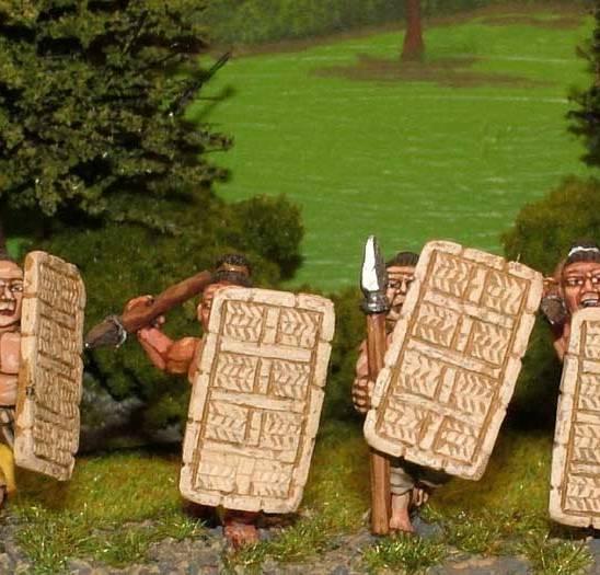 WP12 Large wicker shields. (x 20)