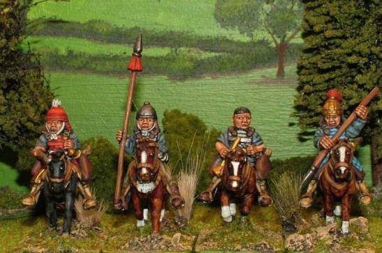 sung chinese Armoured light cavalry command.