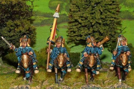 SU26 Heavy cavalry command.
