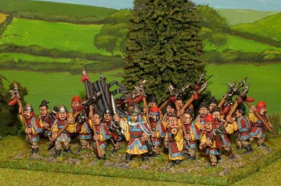 SUP06 Sung Chinese armoured Halberdiers.