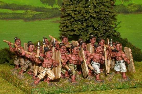 SUP11 Tribal infantry.