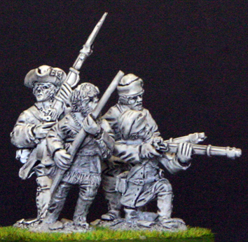 28mm seven years war Courier de bois