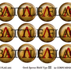 Spartan Shield Set GK03
