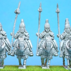 28mm tibetan Cataphracts (1)