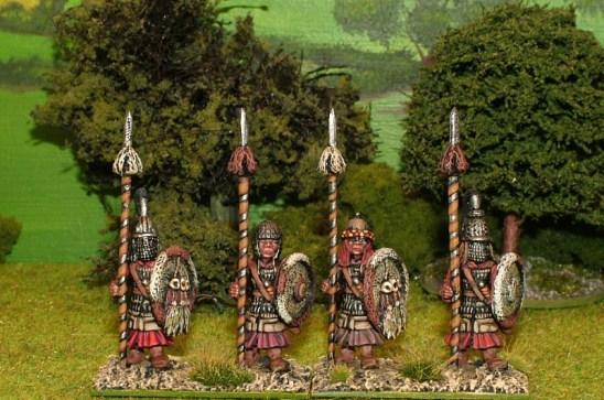 WP13 Tibetan lances. (x 20)
