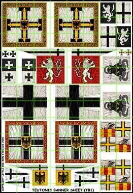 Teutonic banners