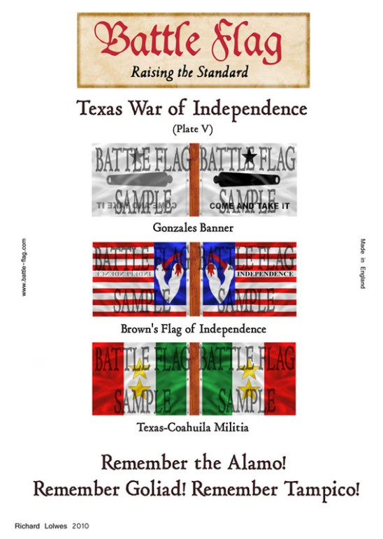 Texas War of independence (Plate V)