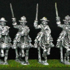 28mm thirty years war Cavalry Swedish Cavalry with s