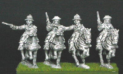 28mm thirty years war Cavalry with pistols