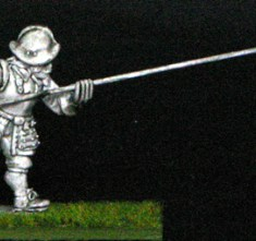 28mm armoured thirty years war Pike men