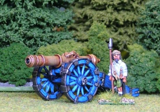 28mm thirty years war Heavy Gun.