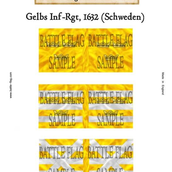 (h) Swedish Infantry (Yellow Regiment)