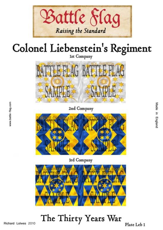 (l) Colonel Leibenstein's Regiment