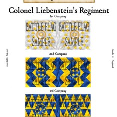 (l) Colonel Leibenstein's Regiment