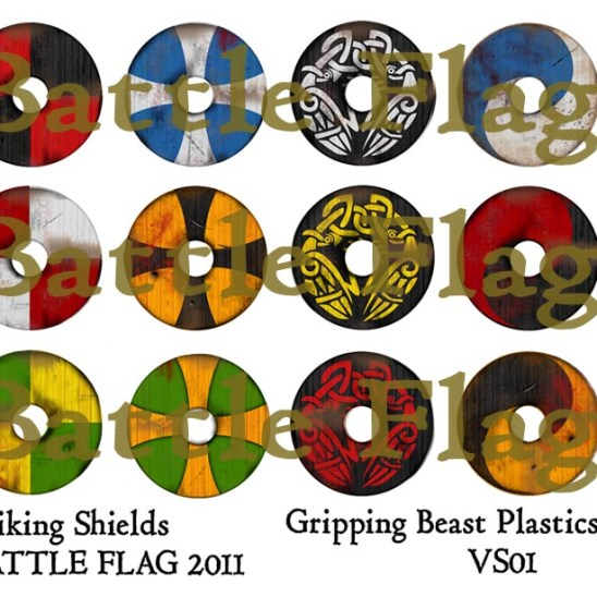 VS01 28mm Viking Shield designs