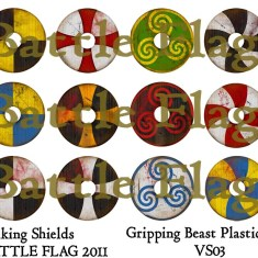 VS03 28mm Viking Shield designs