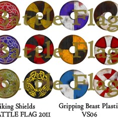 VS06 28mm Viking Shield designs