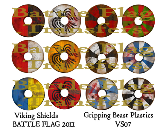 VS07 28mm Viking Shield Designs