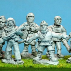 28mm ww1 british Trench raiders.