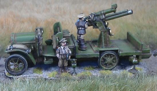 1/48 British Anti Aircraft truck