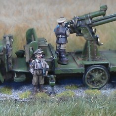 1/48 British Anti Aircraft truck