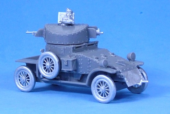 Lanchester Armoured Car V1