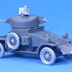 Lanchester Armoured Car V1