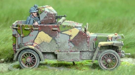 ww1 Peugeot Armoured Car