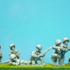 28mm WW2 US Marines with rifles.