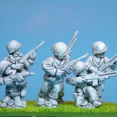 28mm WW2 US Marines with BAR&#39s